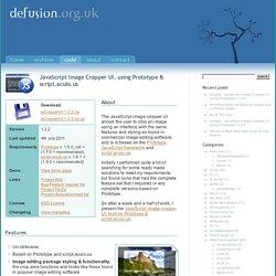 DEfusion.org.uk » JavaScript Image Cropper UI, using Prototype & script.aculo.us