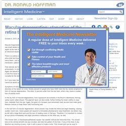 Macular Degeneration: Causes, Symptoms & Treatment