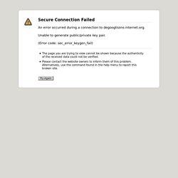 Dégooglisons Internet - Liste des services - Framasoft