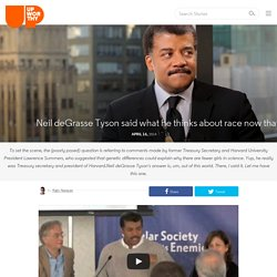 Neil DeGrasse Tyson Said What He Thinks About Race Now That He's Made It, And Almost Nobody Noticed