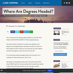 Class Central's MOOC Report