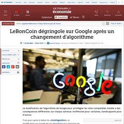 LeBonCoin dégringole sur Google après un changement d'algorithme