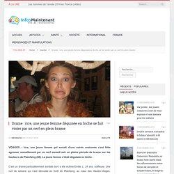 Drame : ivre, une jeune femme déguisée en biche se fait violer par un cerf en plein brame