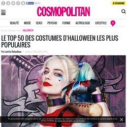 Quel est le déguisement d'Halloween le plus populaire sur Google