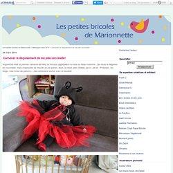 Carnaval: le déguisement de ma jolie coccinelle! - Les petites bricoles de Marionnette