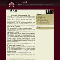 La dégustation du vin : Comment déguster un vin - Le Bon Vin .fr