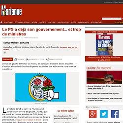 Le PS a déjà son gouvernement... et trop de ministres