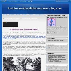 """Le Déjeuner sur l'Herbe... Variations & """"citations"""" - Le blog de Histoire Des Arts Saint-Laurent.over-blog.com"""