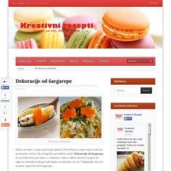 Dekoracije od šargarepe
