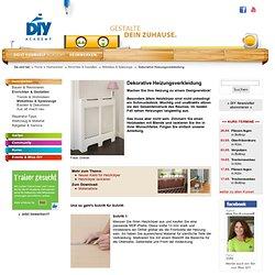 Dekorative Heizkörperverkleidung - DIY-Academy