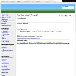 Del og bruk - Samfunnsfag VG1-VG3