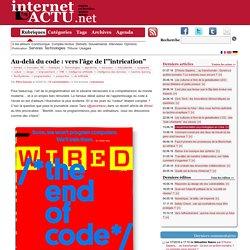 """Au-delà du code : vers l'âge de l'""""intrication"""""""