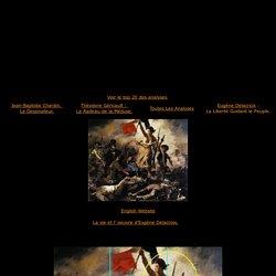 Eugène Delacroix,La Liberté Guidant le Peuple,analyse et etude de la toile et du style,art,culture,peinture historique,histoire de france