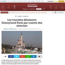 Les touristes délaissent Disneyland Paris par crainte des attentats