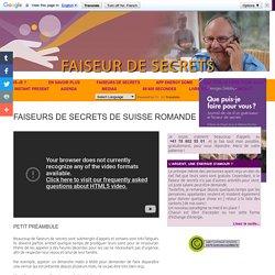 Georges Delaloye, guérisseur d'âmes et de corps > Liste des faiseurs de secrets de Suisse romande