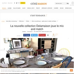 Delamaison : nouvelle collection déco cosy - 06/10/16