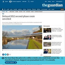 Delayed HS2 second-phase route unveiled