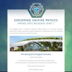 Delegate Level 1 Program 2015 Info – Resonance Academy