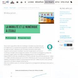 La mobilité et le numérique à l'école - Délégation académique au numérique éducatif