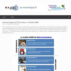 Comment intégrer les TICE en classe : la méthode SAMR – Délégation Académique pour le Numérique Educatif (DANE)