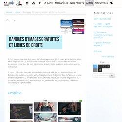 Banques d'images gratuites et libres de droits - Délégation académique au numérique éducatif