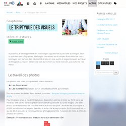 Le triptyque des visuels - Délégation académique au numérique éducatif