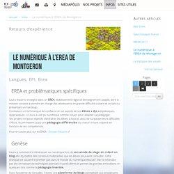 Le numérique à l'EREA de Montgeron - Délégation académique au numérique éducatif