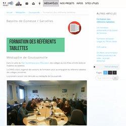 Formation des référents tablettes - Délégation académique au numérique éducatif