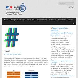 SAMR – Délégation Académique au Numérique