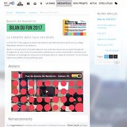 Bilan du FUN 2017 - Délégation académique au numérique éducatif