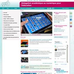 Délégation académique au numérique pour l'éducation