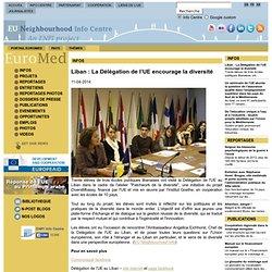 Liban : La Délégation de l'UE encourage la diversité