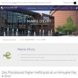 Le workflow pour la Mairie d'Evry