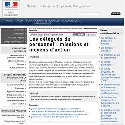Les délégués du personnel : missions et moyens d'action