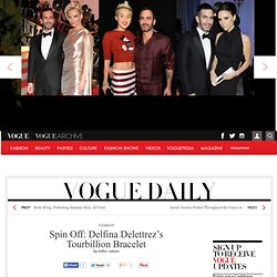 Spin Off: Delfina Delettrez's Tourbillion Bracelet