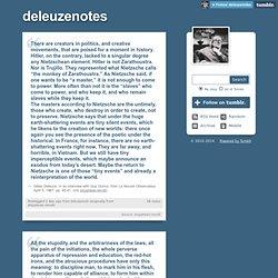 deleuzenotes