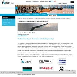 TU Delft: The Future Envelope 7- Facade Value