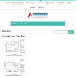 Delhi Gateway L Zone Floor Plan