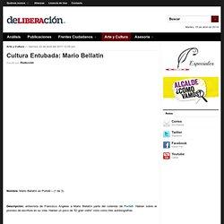Cultura Entubada: Mario Bellatín