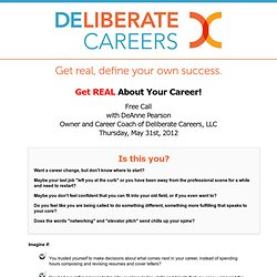 Deliberate Careers