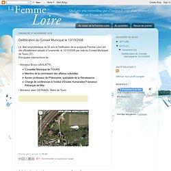 Délibération du Conseil Municipal le 13/10/2008
