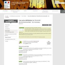 Autorité Environnementale - Avis rendus