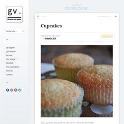 Cupcakes - Délice Sans Gluten