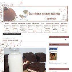 Kinder délice® maison - Le blog de linda,gateaux algériens,cuisine algerienne ,pâtisserie française