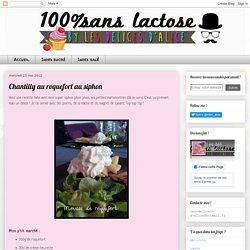 Chantilly au roquefort au siphon