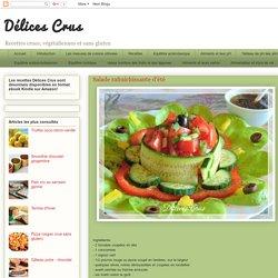 Délices Crus: Salade rafraîchissante d'été