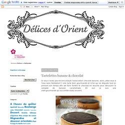 Tartelettes banane & chocolat