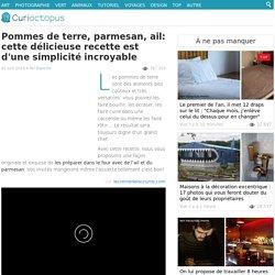 Pommes de terre parmesan-ail