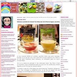 Délicieux cocktails de la Kusmi Tea Party avec de la fine de Cognac {recette