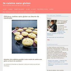 Délicieux cookies sans gluten au beurre de cacahuète